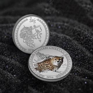 مدال (سکه یادبود )یوز پلنگ ایرانی