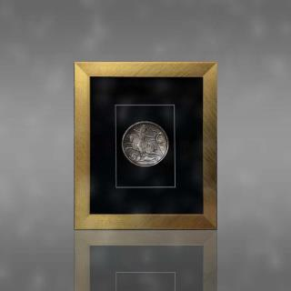 تابلو بشقاب 2500 ساله ساسانی 5 گرمی نقره